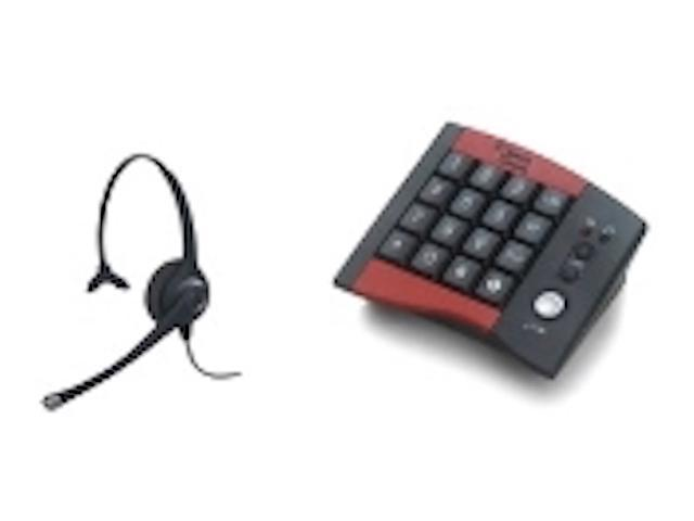 Work From Home Office Combo - Smith Corona Headset and Dial Pad - Great for home office professionals