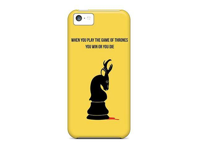 High Impact Dirt/shock Proof Case Cover For Iphone 5c (when You Play The Game Of Thrones)