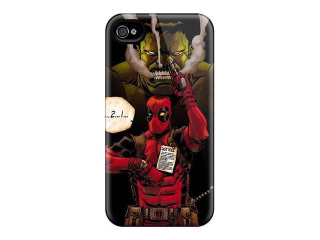 Shock-dirt Proof Hulk And Deadpool Case Cover For Iphone 6