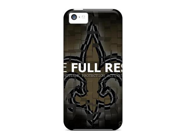 Shock-dirt Proof New Orleans Saints Case Cover For Iphone 5c