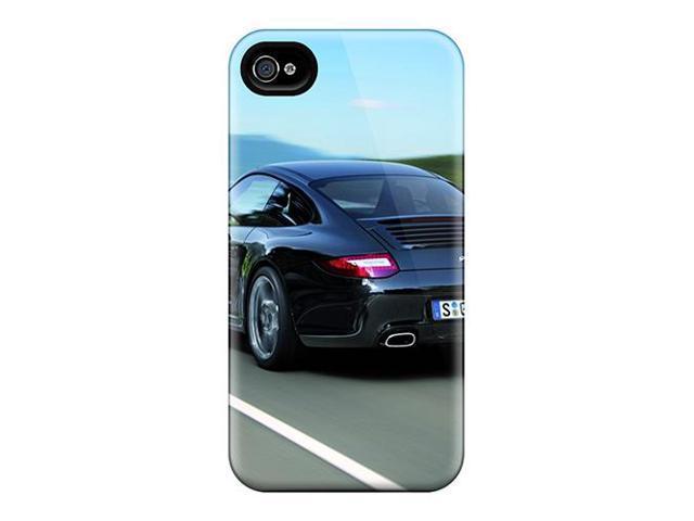 [orI539eIIC] - New 2011 Black Porsche 911 Black Edition Rear Protective Iphone 4/4s Classic Hardshell Case