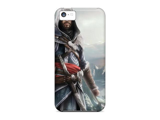 High Impact Dirt/shock Proof Case Cover For Iphone 5c (assassins Creed)