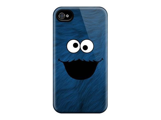 High Impact Dirt/shock Proof Case Cover For Iphone 6 (cookie Monster)
