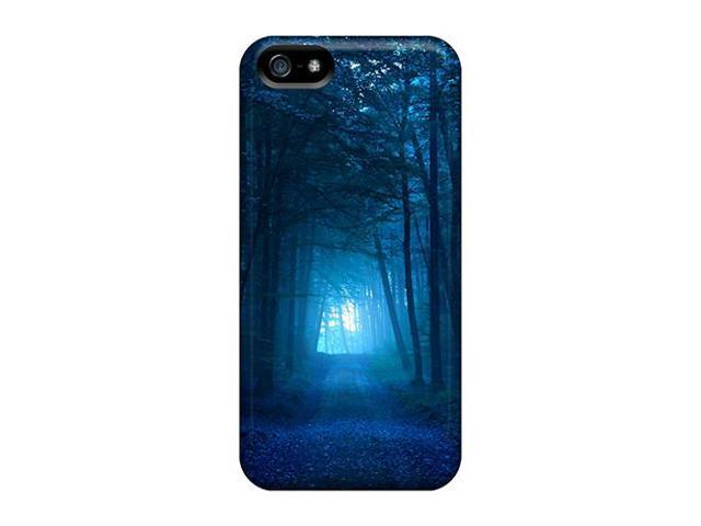High Impact Dirt/shock Proof Case Cover For Iphone 6 (dark Blue Forest)