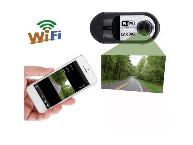 140 Degree Wide View Angle Lens FHD 1080p WiFi Smart Car DVR Wireless Camcorder Motion Detection for Galaxy S5 Note 4 HTC ONE M8 iPhone ...