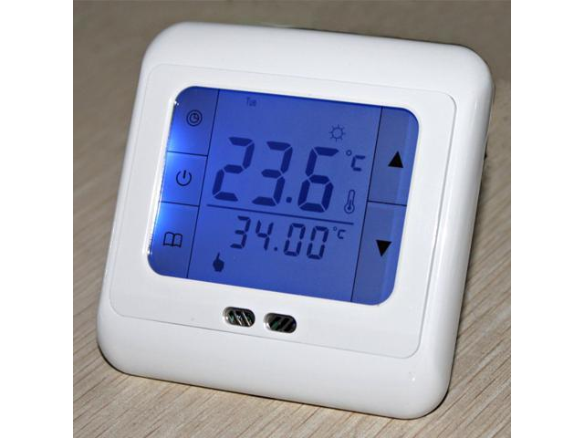 BYC07.H3 16A Programmable Heating Thermostat with Blue Touch Screen