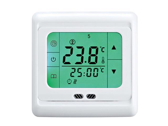 BYC07.H3 16A Programmable Heating Thermostat with Green Touch Screen