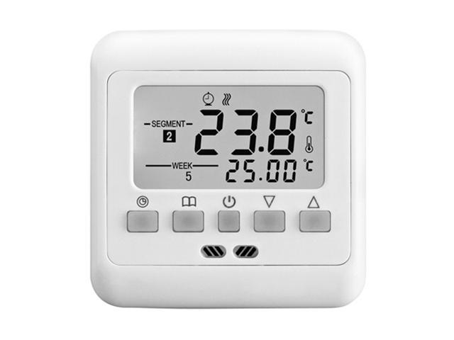 BYC08.H3 16A Programmable Heating Thermostat with White Touch Screen