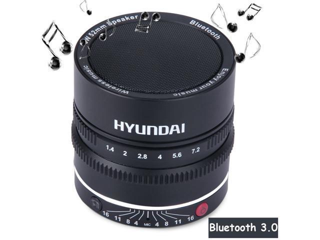 HYUNDAI i600 Pocket MIC NFC Wireless Bluetooth 3.0 Radio Speaker with Voice Broadcast for iPhone 6 6 Plus 5S 5C 5 4S 4