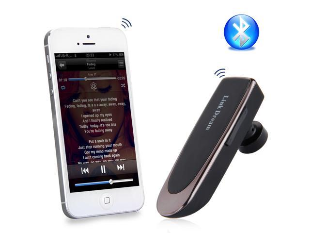 UP to 24 hrs Hodling Time Bluetooth In-ear Headphone Earphone for iPhone 6 SamsungS5 Note4 Laptop
