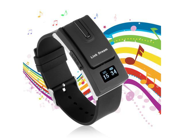 Link Dream Smart Watch Detachable Bluetooth V3.0 Earphone Headset Call Reminder