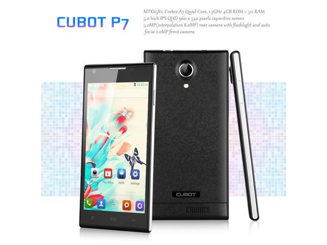 5'' CUBOT P7 IPS QHD Screen 3G Smartphone Android 4.2 MTK6582 Quad Core Mobile Phone