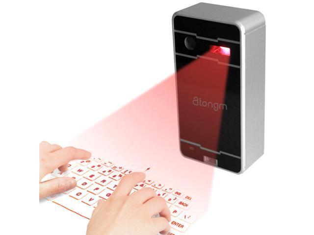 Atongm Magic Newest Wireless Mini Bluetooth Virtual Projection Laser Keyboard