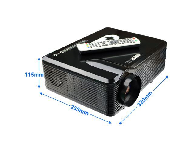 Home Theater Native 720p support 1080p Led projector