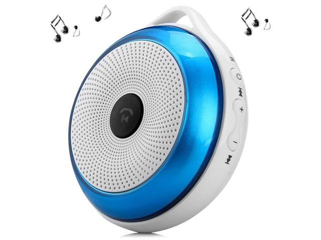 Nogo F1 Fashionable Outdoor Wireless Bluetooth Sound Speaker Built-in Lithium Battery Support AUX External Audio Input Blue