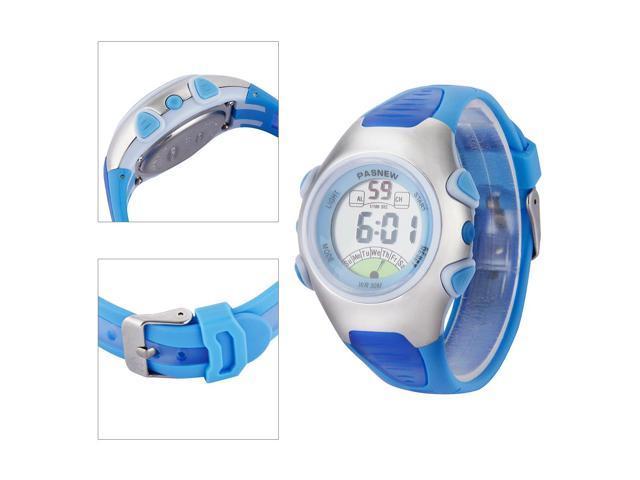 Pasnew Fashion Waterproof Children Boys/Girls/Kids Digital Sport Watch with Alarm, Chronograph, Date