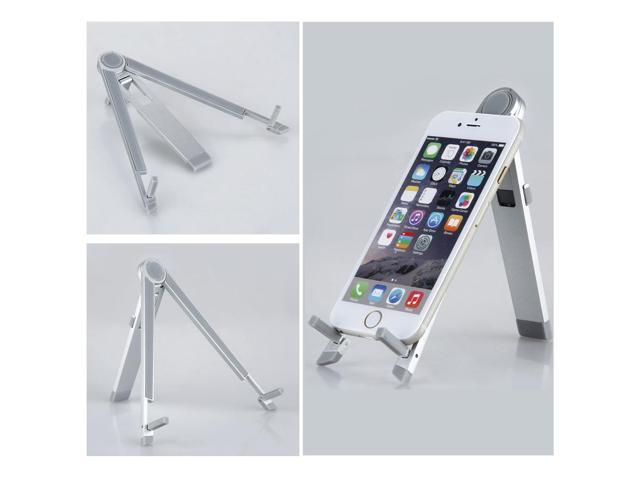 360°Rotatable Fordable Aluminum Holder Stand Mount for iPad 4 3 2 1 iPad Air mini 3/2/1
