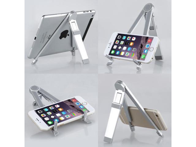 360°Rotatable Fordable Aluminum Holder Stand Mount for iPad 4 3 2 1 iPad Air mini 3/2/1