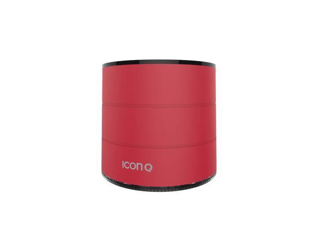 Icon Q - Boundless S1 Bluetooth v2.1 Speaker with Microphone - Red - QBS610