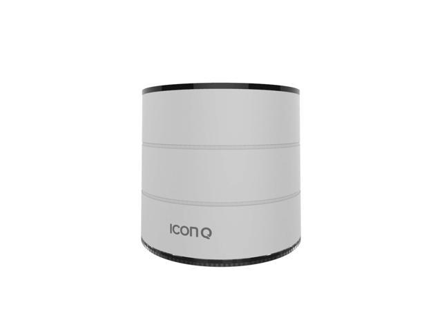 Icon Q - Boundless S1 Bluetooth v2.1 Speaker with Microphone - Silver - QBS610