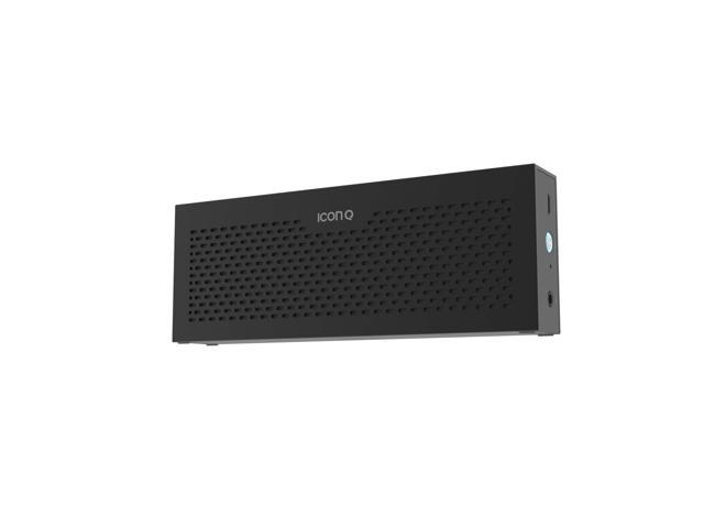 Icon Q - Boundless S3 Bluetooth v4.0 NFC Speaker with Microphone - Black - QBS630
