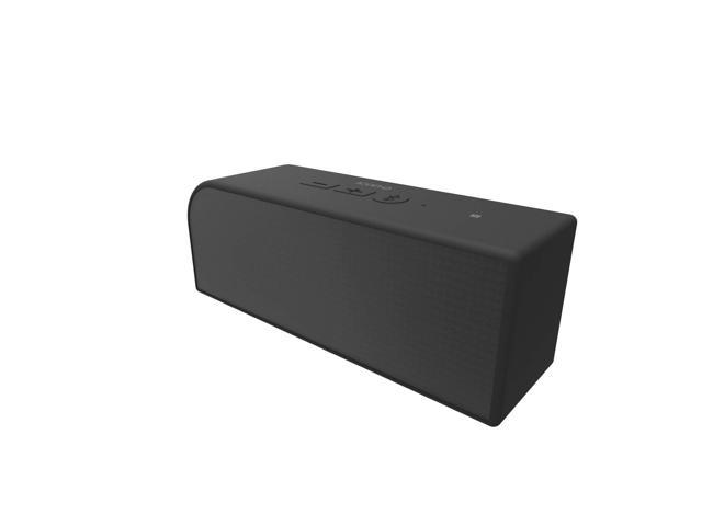 Icon Q - Boundless S4 Bluetooth v.40 NFC Speaker with Microphone - Black - QBS640