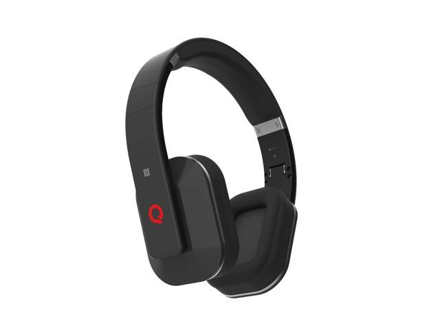 Icon Q - Boundless H3 Bluetooth v4.0 NFC Headphones with Microphone - Black - QBH530