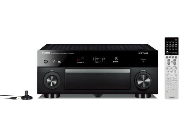 Yamaha RX-A1040 AVENTAGE Series 7.2-Channel AV Receiver (Black)