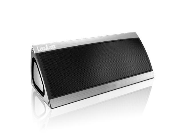 LuguLake LL-X07-S Triangle 10Watt Dual Driver Portable Wireless Stereo Bluetooth Speaker w/ Built-in Mic, 10 hour 2200mAh Rechargeable Battery - ...