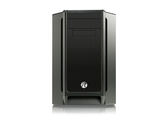 RAIJINTEK AENEAS, Removable M/B Frame and Tool-Free for ODD & HDD, Dust-Control Filters, 14025*2 & 12025*2 fans preinstalled, 0.8mm SGCC, Support ...
