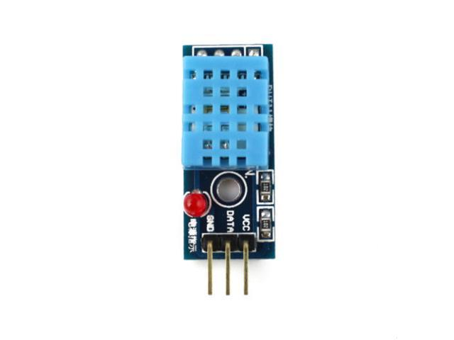 DHT11 digital temperature and humidity sensor Module 20%-95% Range Detection