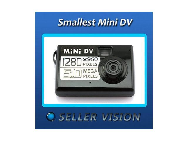 Mini HD DV DVR Video/Sound Camera Recorder Webcam Motion Detect Actived