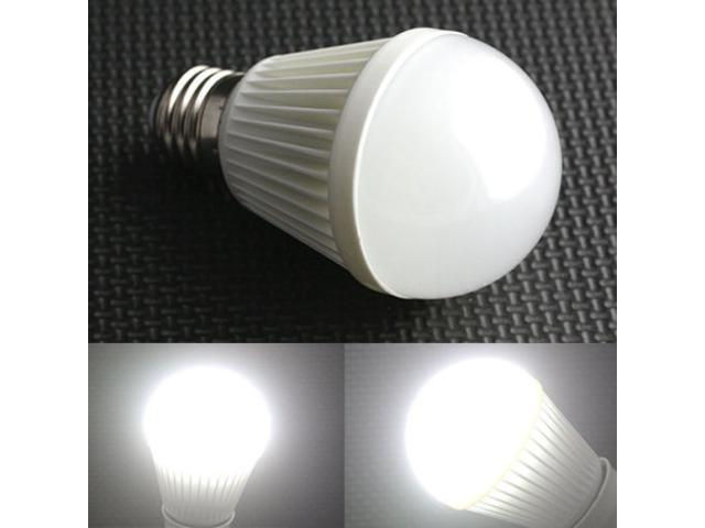 Replacement 7W E27 490LM 1-LED Lamp Bulb Pure White Light Bulbs