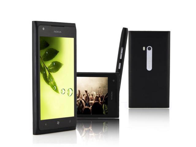 Nokia Lumia 800 - 16GB - Black (Unlocked) windows Smartphone wifi GPS 8MP