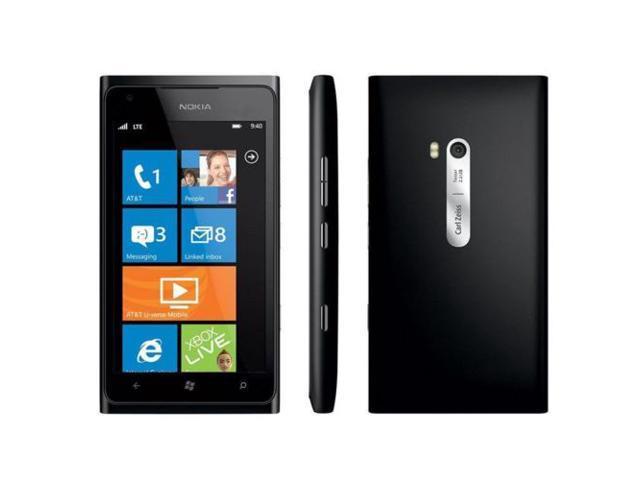 Nokia Lumia 900 16GB Black (Unlocked) 8MP 16GB Windows Smartphone