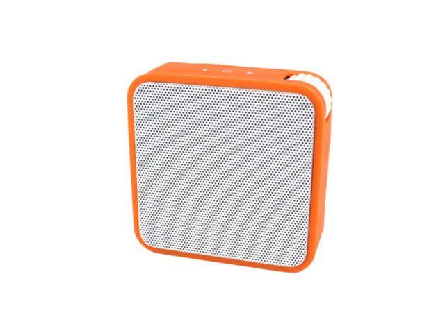 Mini Wireless Bluetooth stereo Speaker With FM For Samsung iPhone Orange