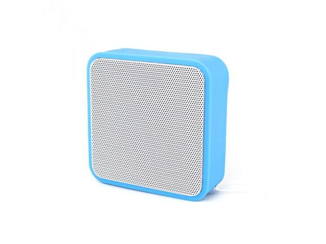 Portable Wireless Bluetooth stereo Speaker With FM For Samsung iPhone Blue