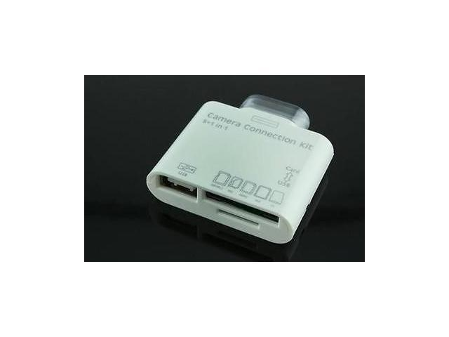 5in1 Camera Connection Kit Card Reader Adapter SD TF for iPad