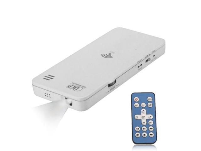 Mini HD Wireless DLP Projector for iPhone 5 Android Phone Laptop PC