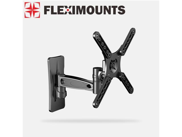 Fleximounts Articulating Arms Tilt Swivel LCD LED TV Monitor Wall Mount for 10