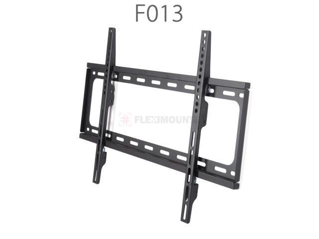 FLEXIMOUNTS Heavy Duty Low Profile Fixed TV Wall Mount for 32 42 47 49 50 55 60 65 TV Size w/ Bubble Level