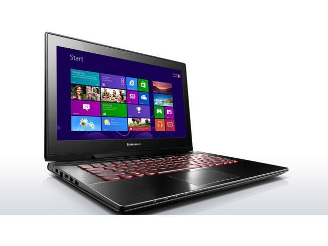 Lenovo Y40 Laptop Computer - 59423035 - Black - 4th Generation Intel Core i7-4510U / 256GB SSD / 8GB RAM / 14.0