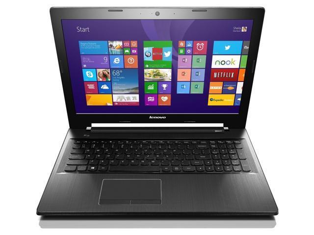 Lenovo Z50 Laptop Computer - 59436279 - Black - 4th Generation Intel Core i7-4510U / 1TB Hard Drive / 8GB RAM / 15.6