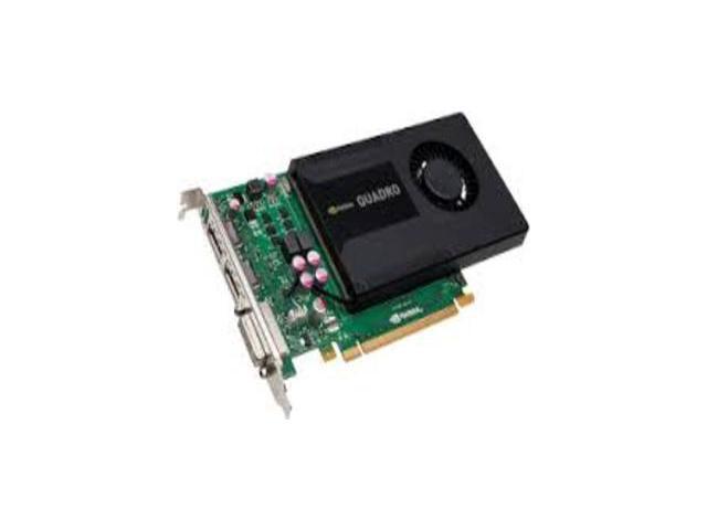 HP Quadro K2000 2GB 128-bit GDDR5 Standard Height Workstation Video Card 700103-001