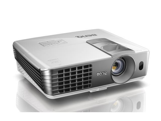 BenQ W1070 1920x1080 FHD 2000 ANSI Lumens, 16:9 Aspect Ratio, Dual HDMI Input, Smart Eco Tech, Built In 10W Speakers, Home Entertainment 3D Ready ...
