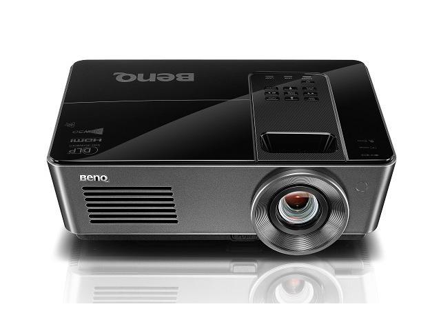 BenQ SH915 1920x1080 FHD 4000 ANSI Lumens, Dual HDMI 3D Ready DLP Church Worship Bar Home Theater Projector
