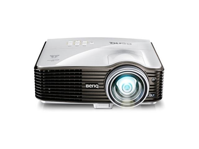 BenQ MX810ST DLP Short Throw Bar Church Worship Home Theater Projector XGA 2500 Lumens  Benq 1 Year Factory Parts & Labor Warranty