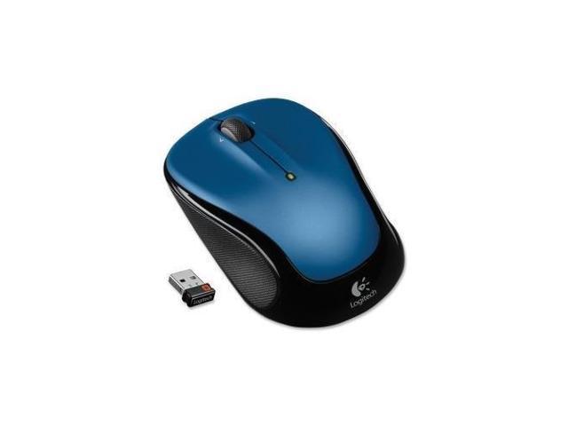 Logitech M325 910-002650 Blue 3 Buttons 1 x Wheel USB RF Wireless Optical Mouse