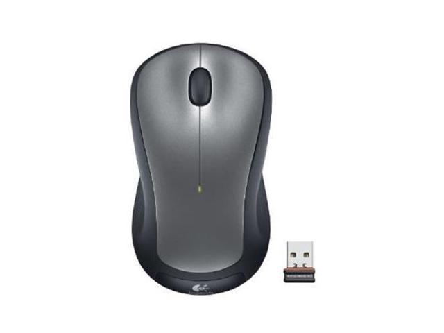 Logitech M310 Mouse Wireless - Silver Radio Frequency - USB - Scroll Wheel