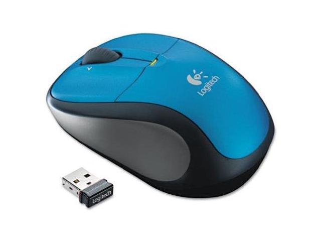 Logitech M305 Wireless Optical Mouse (Blue)